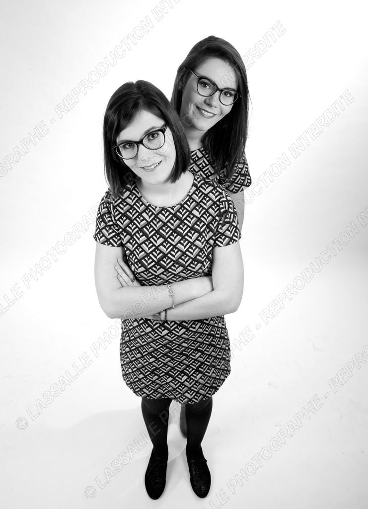 Portrait de deux soeurs
