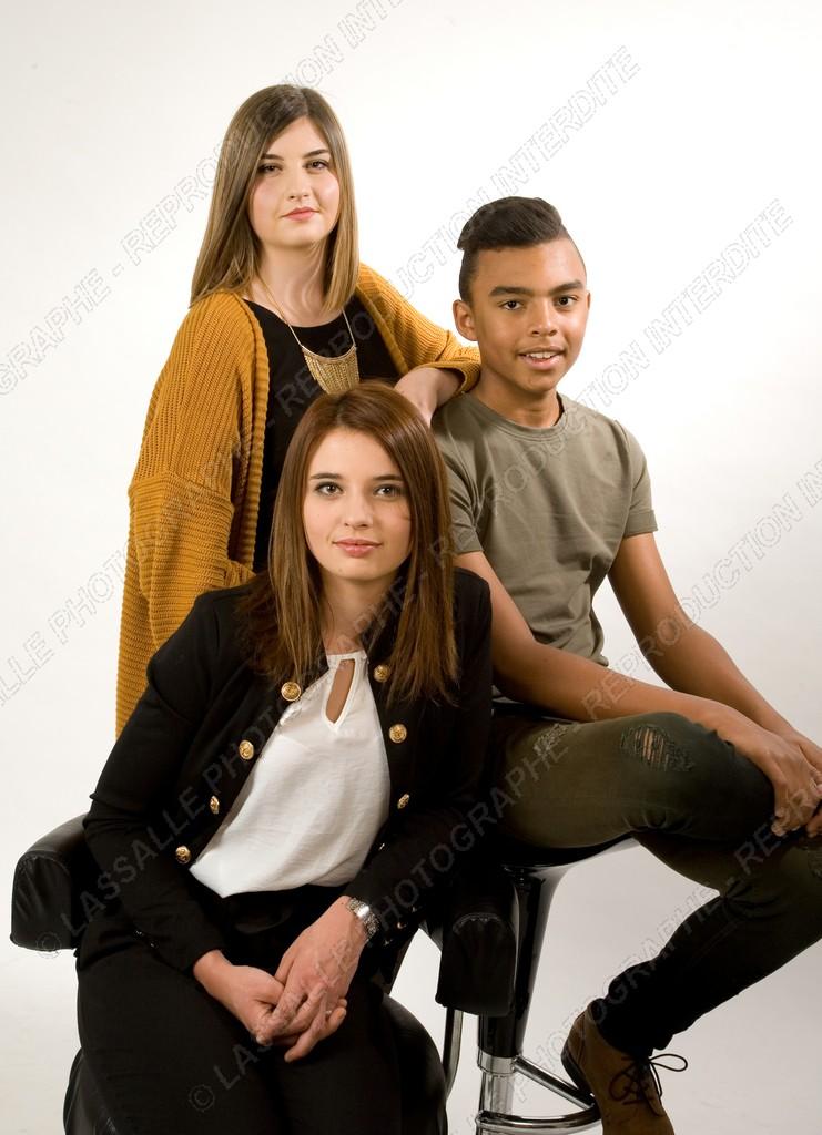 Photo de frère et soeurs