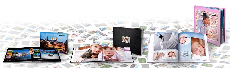 Livres photos couvertures souples ou rigides