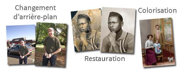 Retouche et restauration de photos