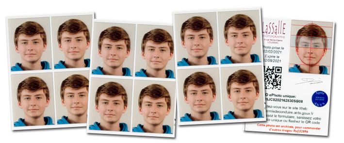 12 Photos d'identité