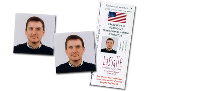 Photos d'identité pour visa