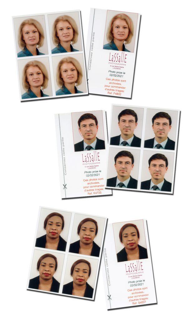 Jolies photos d'identité pour C.V., école, sport